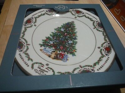 Lenox 1996 RUSSIA Trees Around The World Plate Annual Christmas