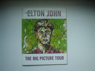 Elton John THE BIG PICTURE Tour Book