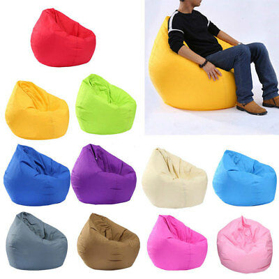 UK Bean Bag Chair Indoor/Outdoor Tall Gamer Beanbag Seat - Adult and Kids Sizes