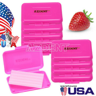 200Box Orthodontic Wax Waxing Pink Scent For Braces Gum irritation AZDENT