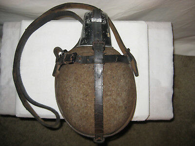 German WW2 WWII Original Medic Medics Medical Canteen with Cup Strap Complete