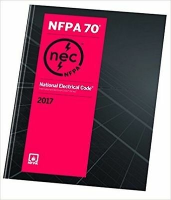NFPA 70: NEC National Electrical Code  Paperback 2017 , 2-3 day Delivery