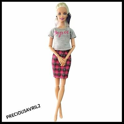 Brand new barbie doll clothes clothing outfit casual summer skirt & top