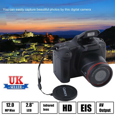 "UK FULL HD 1080P 16MP 2.4""LCD 16X ZOOM Night Vision Digital Video DV Camera tro"
