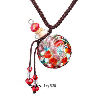 Hot fashion Oil Perfume Bottle Vial Necklace Fragrance Aromatherapy Diffuser New