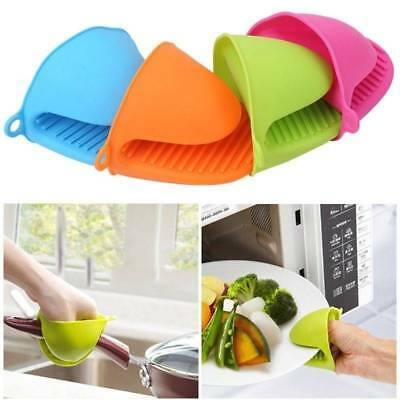 Silicone Oven Mitt Useful Kitchen Cooking BBQ Heat Resistant Anti-slip Glove