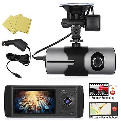 2.7 Inch LCD Full HD Front&Rear Dual Camera Vehicle Car DVR Dash Cam Recorder US