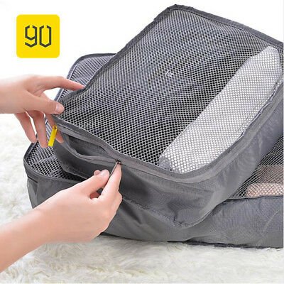 Xiaomi Waterproof Clothes Storage Bag Packing Cube Travel Luggage Organizer Pouc
