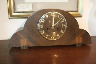 An Art Deco Mantle Clock with 3 Month Warranty