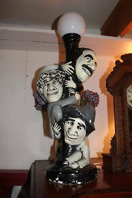 A Vintage Marx Brothers Lamp - 725mm Tall