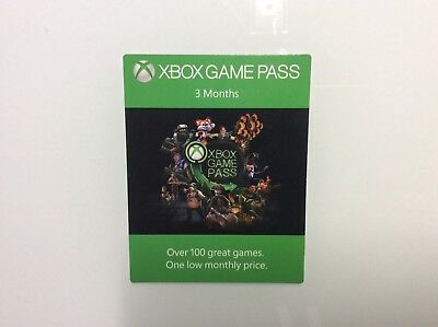 xbox game pass 3 monate  (Versand via email )