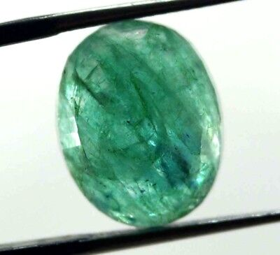 Christmas Offer 8.40 Ct GGL Certified Natural Emerald Magnificent Oval Cut Gem