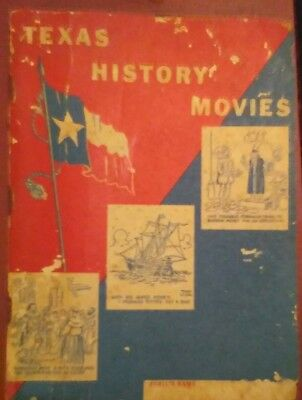 Rare 1956 Texas History Movies, Mobil/Magnolia Petroleum, 128 Pages, Comic...