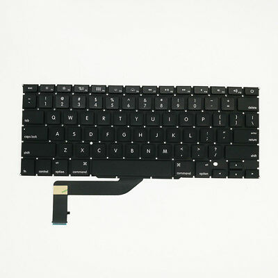 1 Pc Replacement US Laptop Keyboard Shell For Apple MacBook Pro Retina 15 A1398