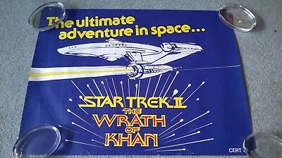 Star Trek 2 Wrath of Khan 4 original posters