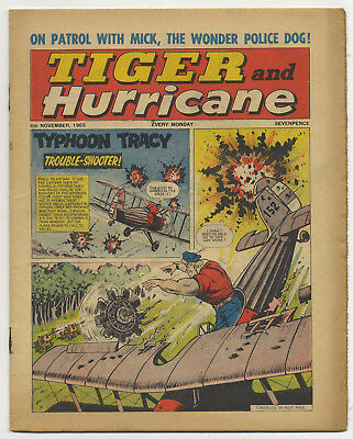 Tiger 6th Nov 1965 (Jet-Ace Logan, Olac the Gladiator, Roy of the Rovers...)