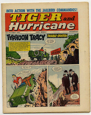 Tiger 23rd Oct 1965 (Roy of the Rovers, Jet-Ace Logan, Olac the Gladiator...)