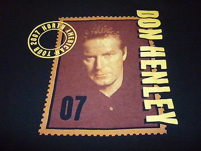 Don Henley  2007 Tour Shirt ( Used Size XL ) Nice Condition!!!