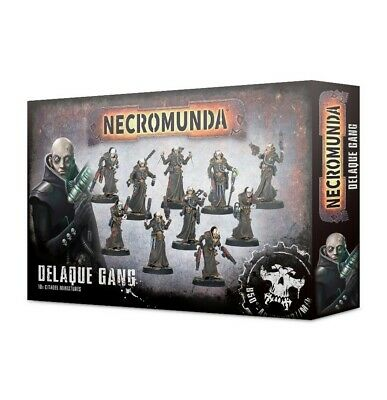 Necromunda: Delaque Gang Games Workshop Brand New