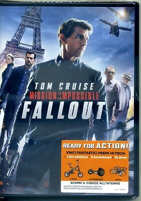 MISSION: IMPOSSIBLE - FALLOUT  DVD NUoVO