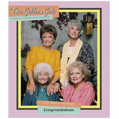 2019 Golden Girls Special Edition Wall Calendar, Comedy TV by ACCO Brands