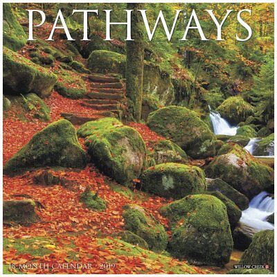 2019 Pathways 2019 Wall Calendar, Nature by Willow Creek Press