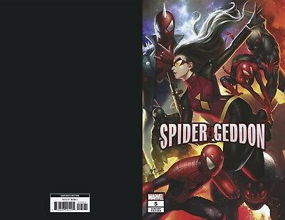 Spider-Geddon #5 (Of 5) In Hyuk Lee Connecting Variant - Release Date 19/12/18