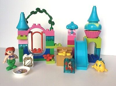 Lego Duplo 10515 The Little Mermaid Ariels Undersea Castle Complete