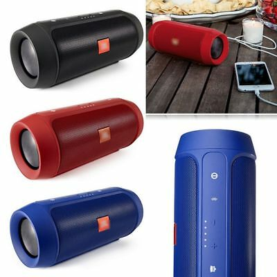 Portable Wireless Bluetooth Speaker Splashproof Charge 2 + Outdoor Stereo LOT L3
