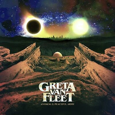 Greta Van Fleet **Anthem Of The Peaceful Army **BRAND NEW CD!!