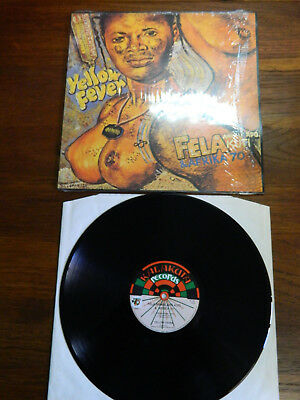 LP  Fela Aníkú˙ápó Kuti* & Afrika 70  ‎– Yellow Fever France 1997