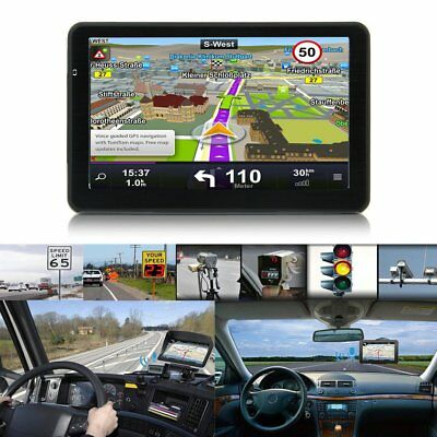 710 7 inch Car Truck GPS Navigation 256M+8GB Capacitive Screen FM Navigator UQ~#
