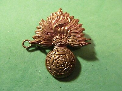 WW2 Canadian The Canadian Fusiliers (City Of London Regiment) (M.G.) Cap Badge