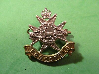 WW2 Canadian The Grey And Simcoe Foresters Cap Badge