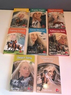 PonyClub Lot of 8 Pony Club Books Hardcover Chapter Book all Horse Angel VGC