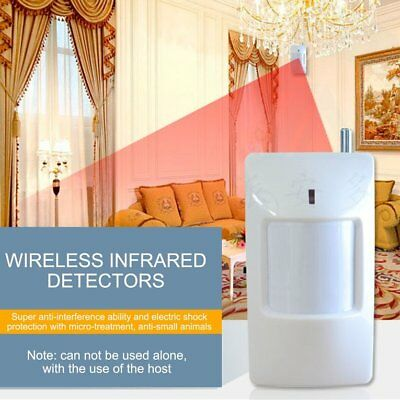 Wireless Passive Infrared Detector PIR Detector Wide-angle Intelligent AlaE0