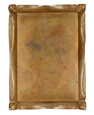 A Tiffany & Co brass or bronze dish Late 19th - early 20th century Card holder