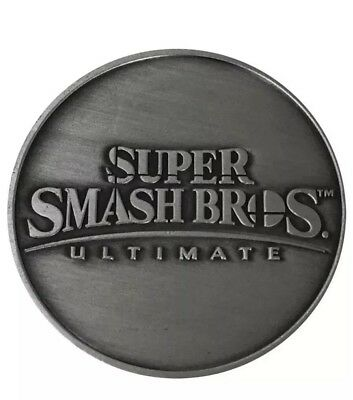 BRAND NEW Super Smash Bros Ultimate Coin Nintendo Switch SHIPS TODAY!!!