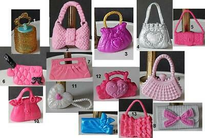 Your Choice Barbie Size Fashion Dolls Purse and handbag Accessories Monster High