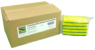 Sanico 745 Medium Duty Cellulose Scouring Sponge 8/5/cs