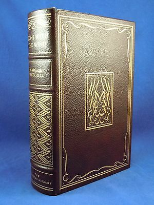GONE WITH THE WIND Margaret Mitchell Franklin Library Beautiful Leather, 1976