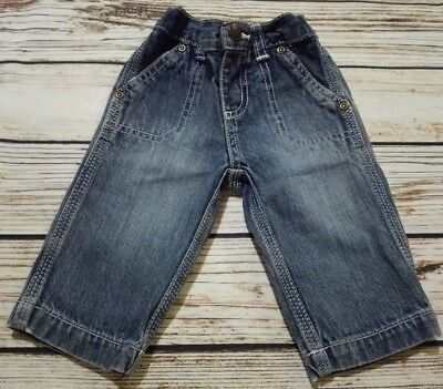 Infant Baby Boy's Denim Jeans by Carter's Sz 3 Months Medium Wash Straight Leg