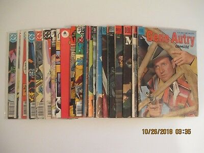 Lot Of (23) Western Related Comic Books Dell/dc
