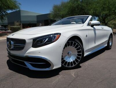 2017 Mercedes-Benz S-Class Maybach S 650 Cabriolet 2017 Mercedes Benz Maybach S 650 Cabriolet 315 Miles RARE S650 S550 S65 S63 amg
