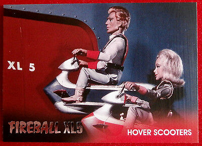FIREBALL XL5 - Foil Chase Card F1 - HOVER SCOOTERS - GERRY ANDERSON COLLECTION