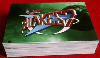 "BLAKE'S 7 - COMPLETE ""Green Series"" BASE SET of 54 CARDS - Unstoppable Cards Ltd"