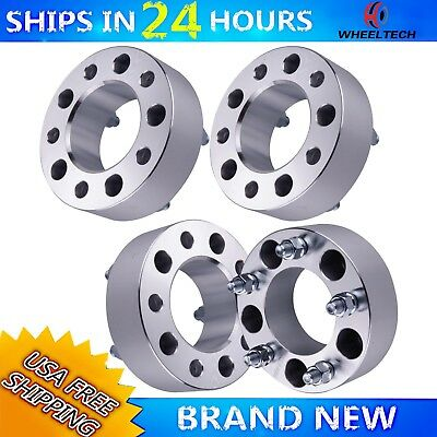 4 PCS 5x5.5 Fit 1994-2001 Dodge Ram 1500 2 inch Wheel Spacers