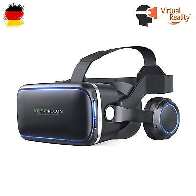 VR-Brille mit Headset,Virtual Reality Smartphones Samsung, iPhone, HTC