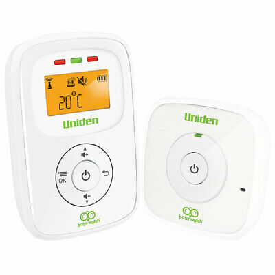 Uniden Digital Wireless Baby Audio Monitor with Room Temperature Online Only