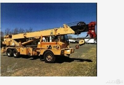 1991 Grove TMS250C,80' Max Boom Length,45' Max Jib Length,4 Outriggers